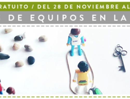 """Curso online gratuito: coaching de equipos en la práctica """"5 pasos, 5 días""""."""