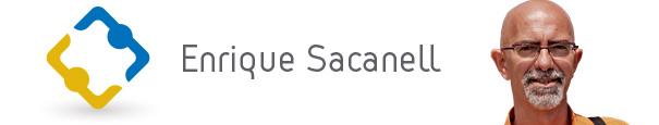 Enrique Sacanell Logo
